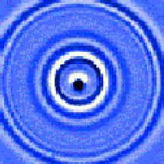 アニメーション ギャラリー結晶の波紋固体中のピコ秒超音波パルス
